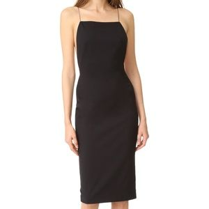 AQ/AQ Cartney Backless Midi Dress - Black